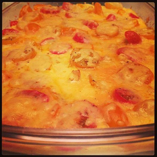 oven omelette bloemkool - Jammie040.nl