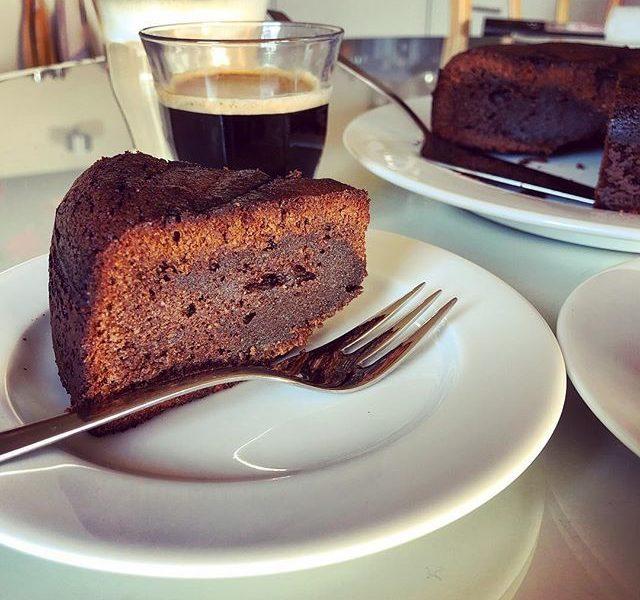 chocolade hazelnoot torte - jammie040.nl